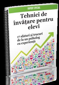 Tehnici de Invatare pentru elevi - 17 sfaturi si trucuri de la un psiholog cu experienta